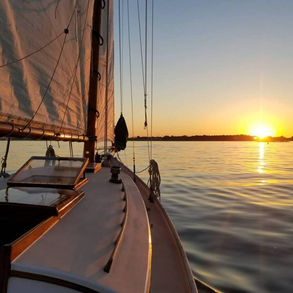 Sunset Sail on Friendship Sloop Wenonah